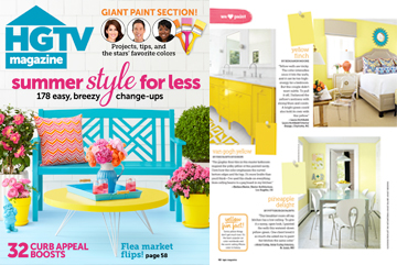 HGTV June Issue Press Release