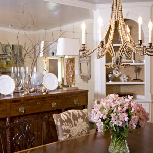 Dining Room Mirror View